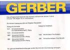 Gerber Katalog ist aus der Saison 1981/82
