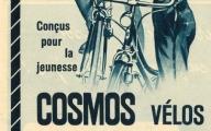 Reklame Cosmos 1955 französisch