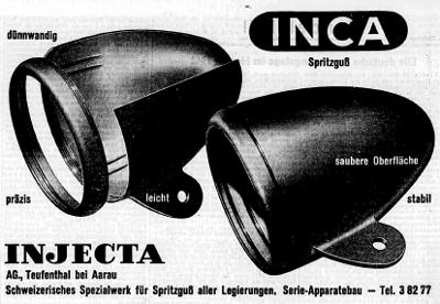 INCA Werbung 1942