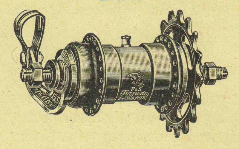Torpedonaben-Zeichnung aus den 20er Jahren