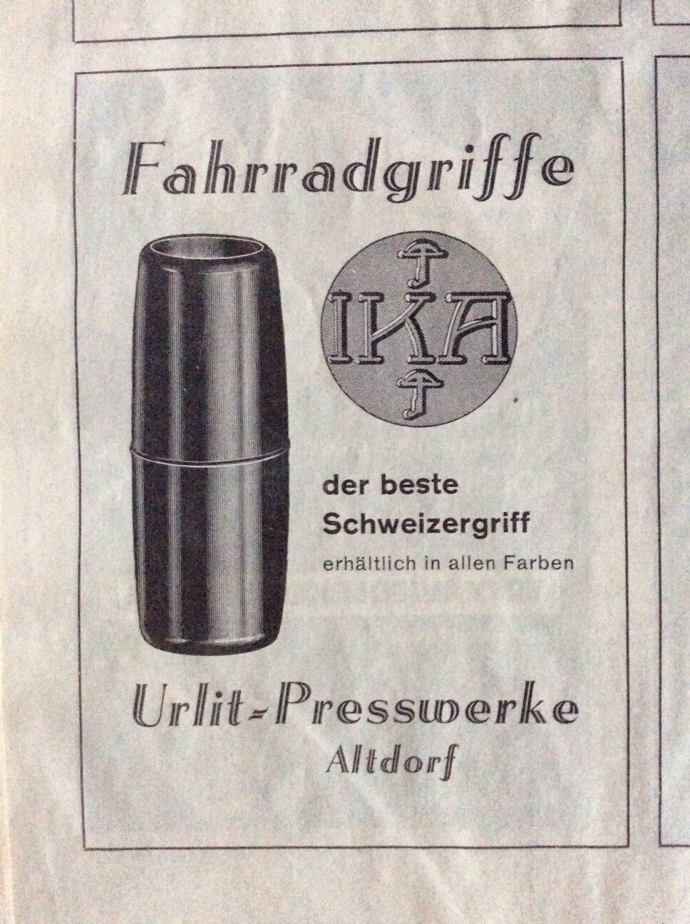 IKA Griffe der Firma Urlit